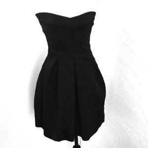 Express dress size xs black
